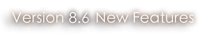 Version 8.5 Release Notes