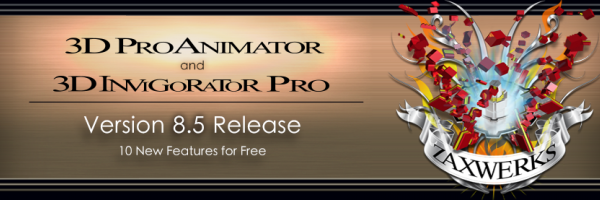 v8.5 ProAnimator and Invigorator Released