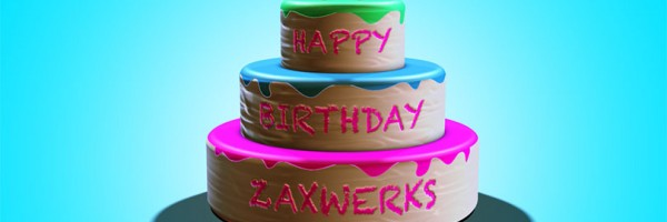 Free Layered Cake 3D Model