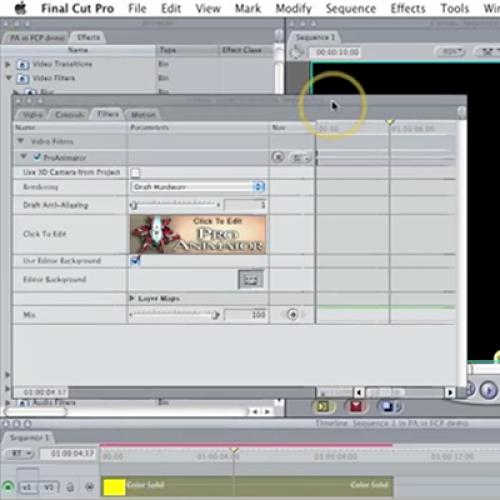 Tutorial 14 - ProAnimatorFX - Quickstart In Final Cut Pro