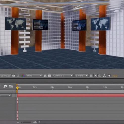 Tutorial 36 - Creating A Virtual Set Part 2