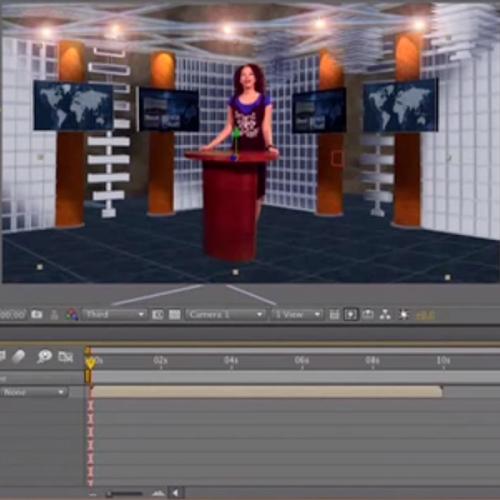 Tutorial 37 - Creating A Virtual Set Part 3