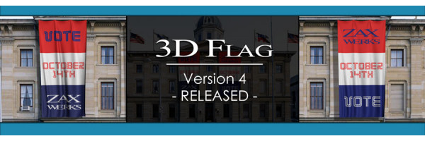 3D Flag Version 4 New Features