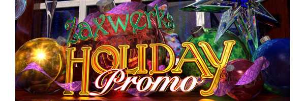 Zaxwerks Holiday Promo