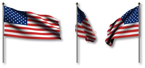 3d flag