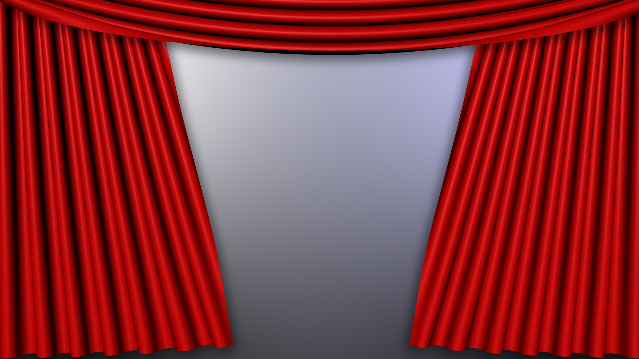 stage curtains opening animation - DriverLayer Search Engine