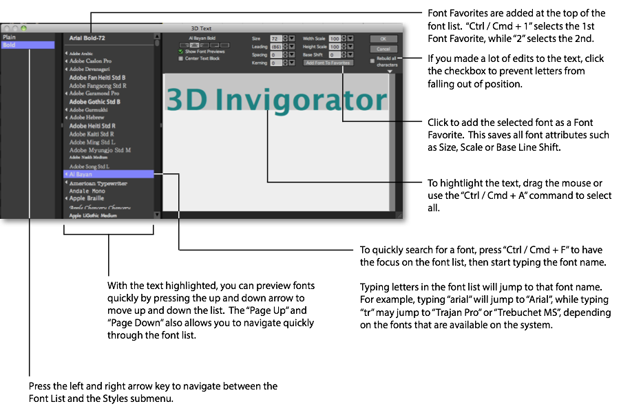3D Invigorator Documentation